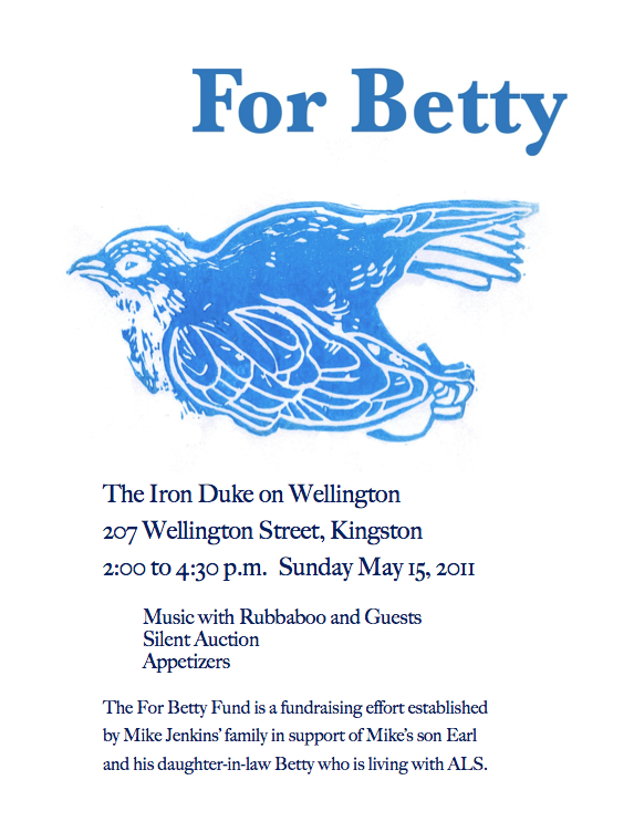 For Betty fundraiser