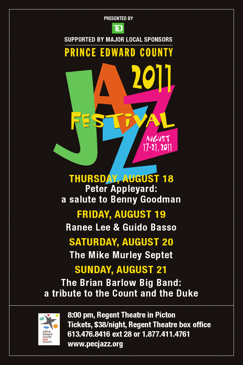 2011 PEC Jazz Festival:  August 16-21