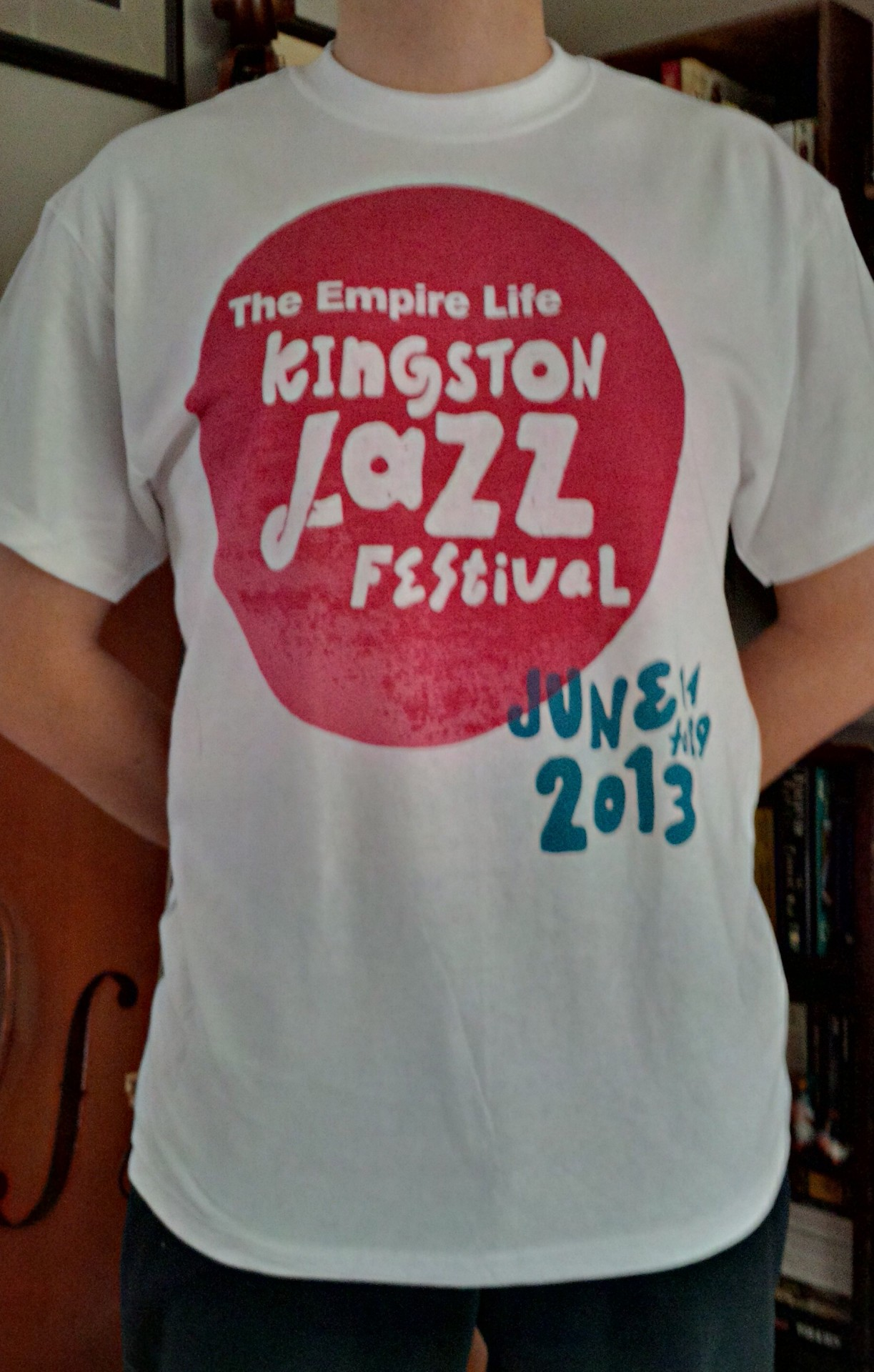 2013 Empire Life Kingston Jazz Festival T-Shirt