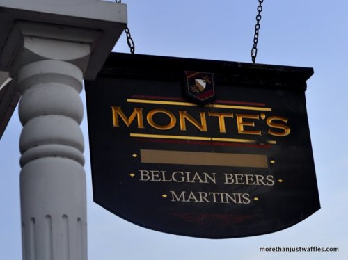 Old Monte's Sign (no longer there)