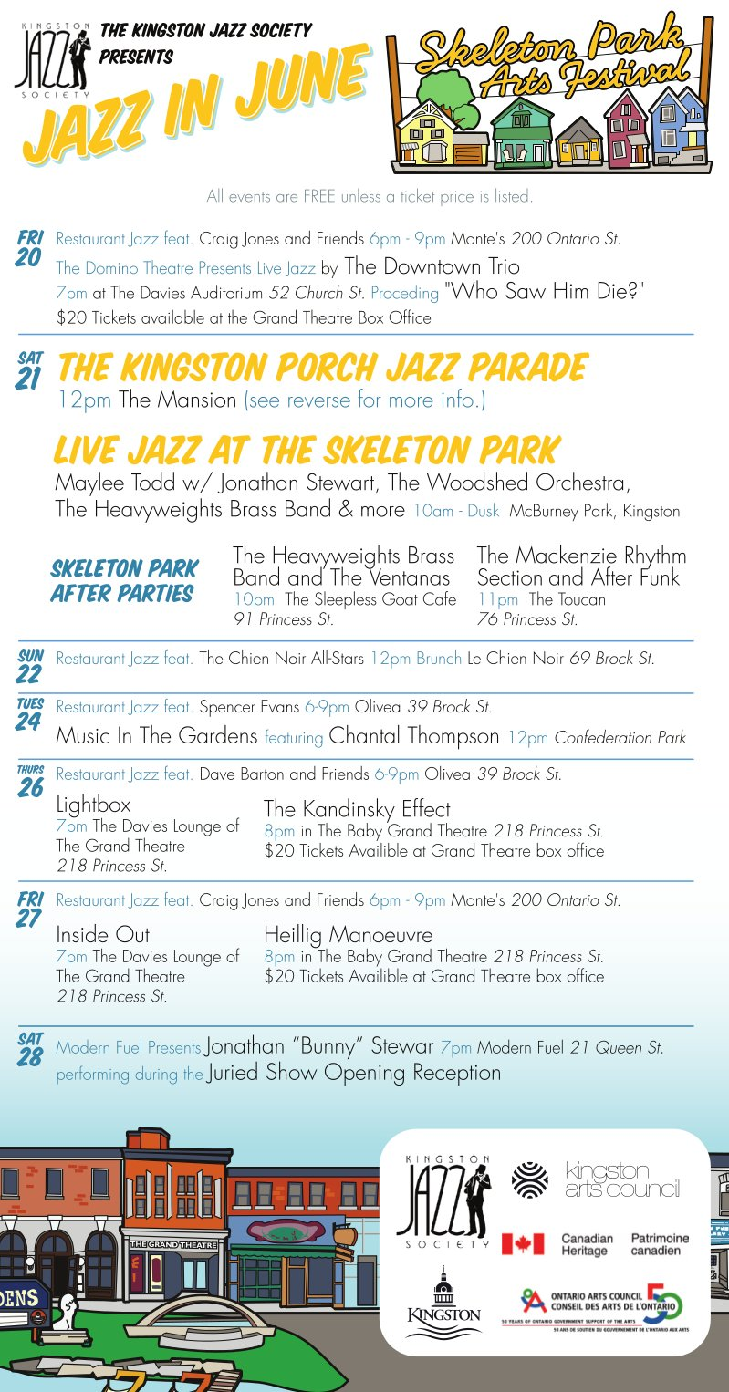 Jazz In June at the SPAF!