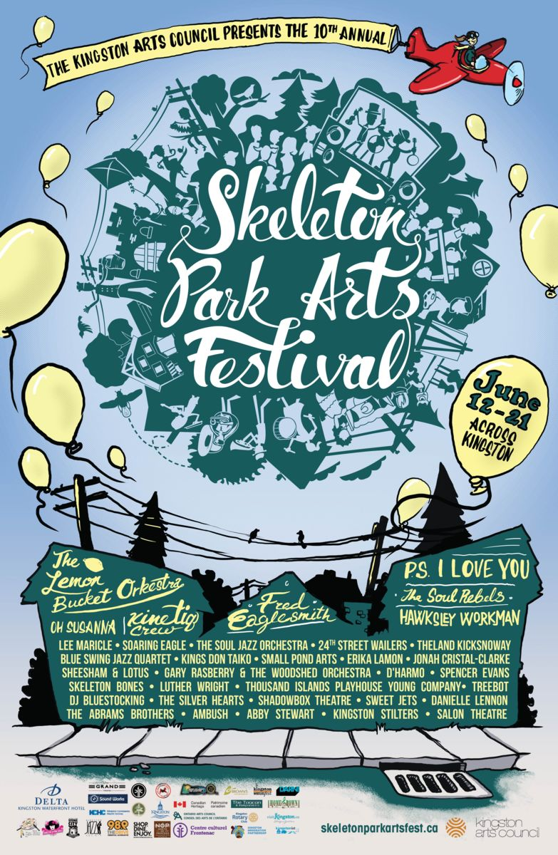 Skeleton Park Arts Festival 2015: June 12-21