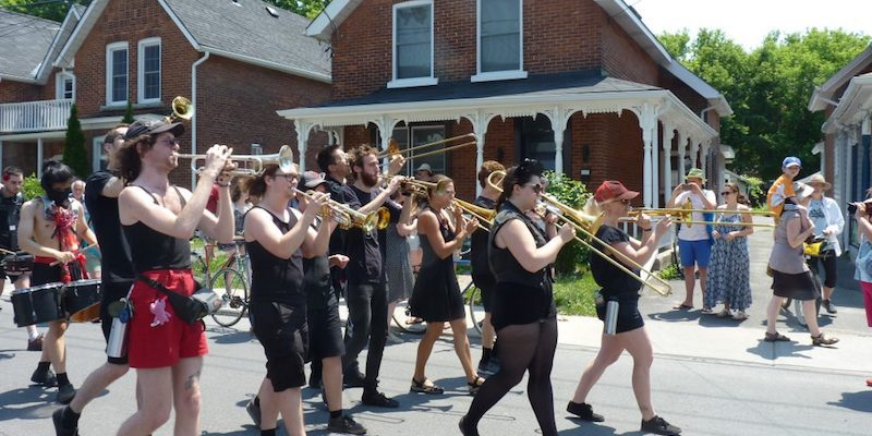 Jun 25: Porch Jazz Parade @ SPAF