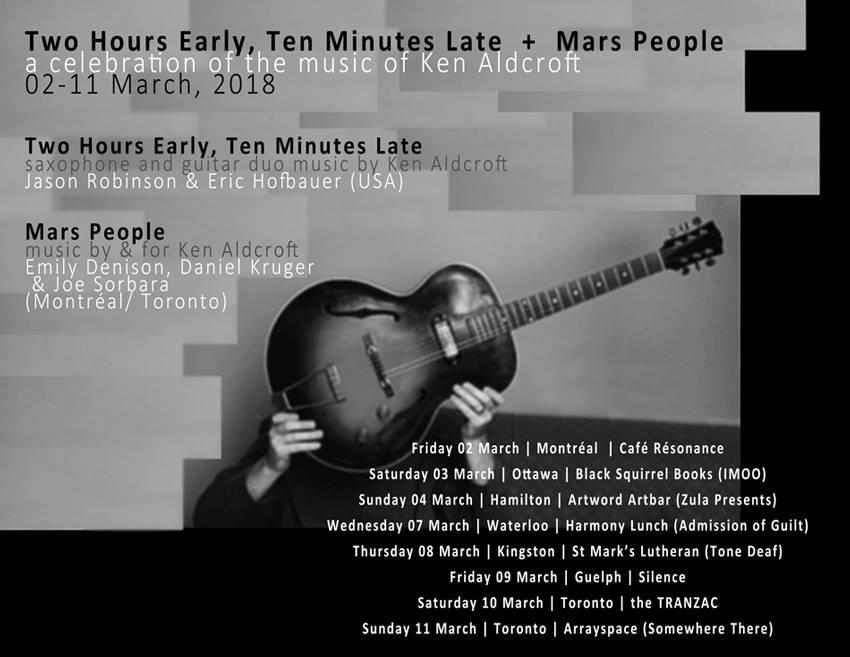 Mar.8: Experimental Music @ St Mark's