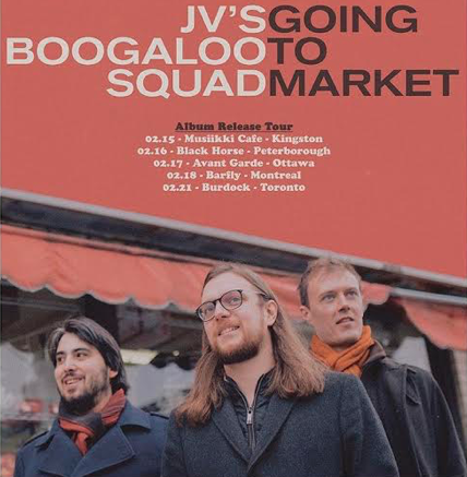 Feb.15: JV's Boogaloo Squad @ Musiikki